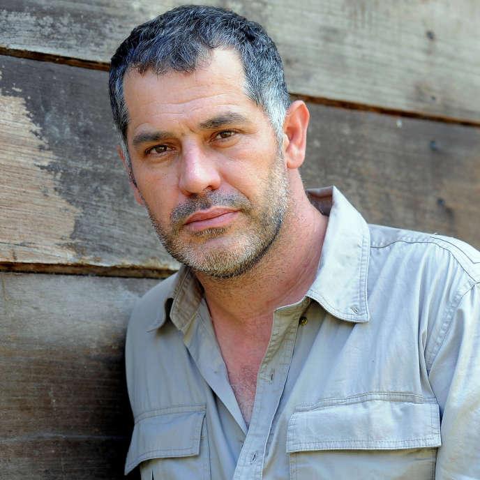 Luc Jacquet, lors du tournage de son film «Il était une forêt», en 2012 enAmazonie