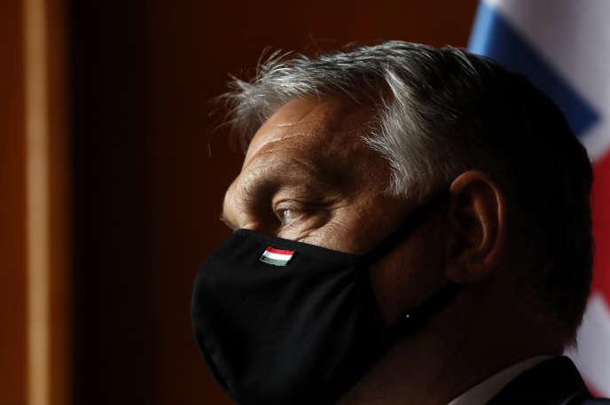 Le premier ministre hongrois, Viktor Orban, le 11 juin, àLednice, en République tchèque.