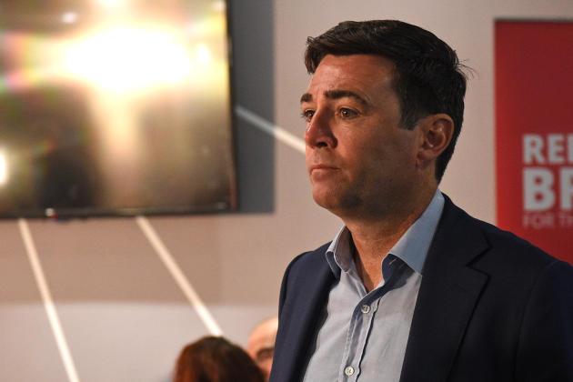 Andy Burnham, le maire de Manchester, le 2 septembre 2019.