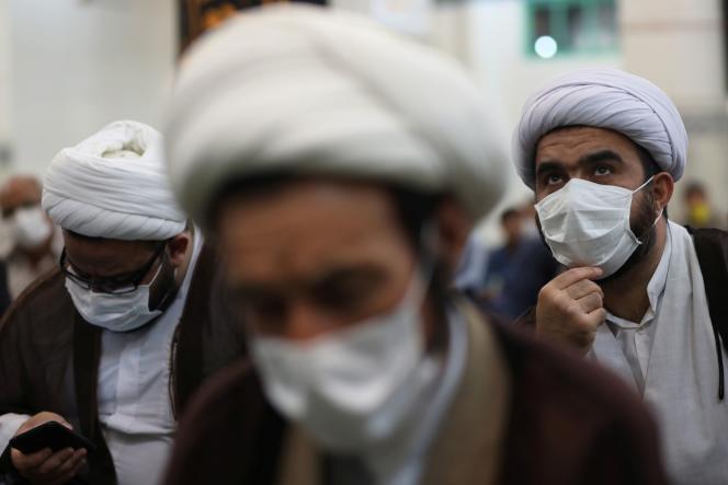 Dans une mosquée de Téhéran, le 12 juin.