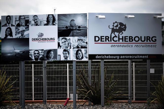 Au siège de Derichebourg Aeronautics Services, à Blagnac, près de Toulouse, le 13 mai.