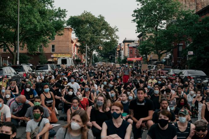 Manifestation le 11 juin à New York.