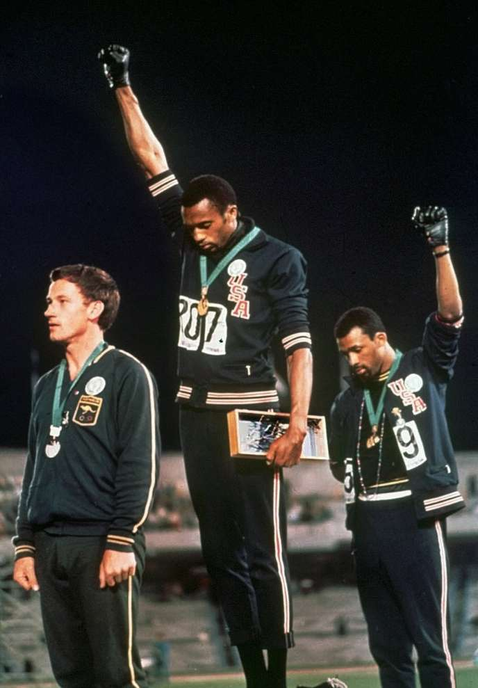 John Carlos and American athletes demand extra freedom of expression on the Olympics