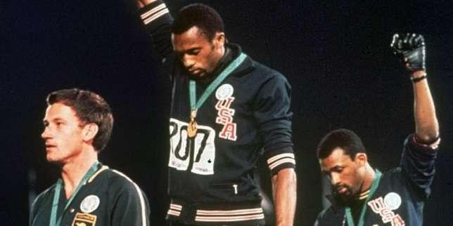 John Carlos, l'athlète au poing levé, et des sportifs réclament plus de liberté d'expression aux Jeux olympiques thumbnail