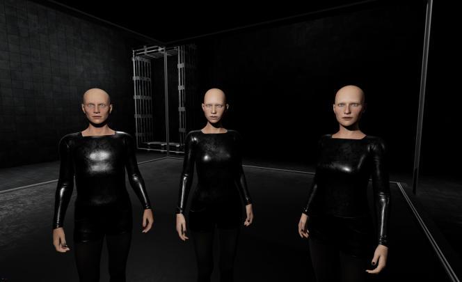 Le robot Jarvis sélectionnera les artistes exposés à la Biennale en2022 (ici, «Seamless Affinities», de Claudia Brăileanu, présentée en2020).