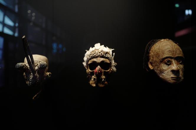 Le Musée des arts premiers du Quai-Branly présente de très nombreuses pièces d'arts africains.