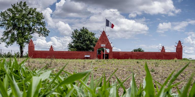 Chasselay, le 15 juin 2020. Tata Sénégalais, nécropole nationale ou sont inhumés 188 tirailleurs originaires de différents pays d'Afrique de l'ouest massacrés le 20 juin 1940.