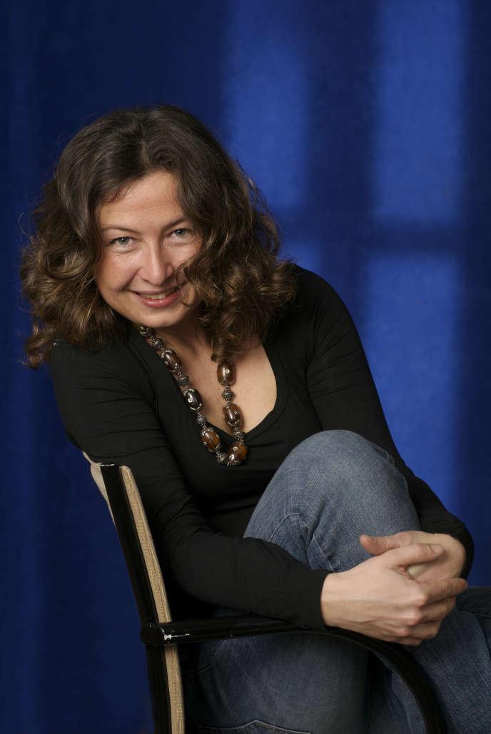 L'écrivaine italienne Caterina Bonvicini, en2010.