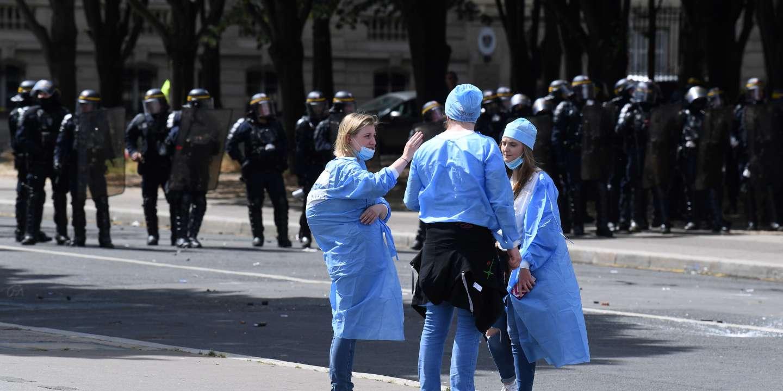 Deux mois avec sursis requis contre Farida Chikh, l'infirmière jugée pour violences contre des policiers - Le Monde