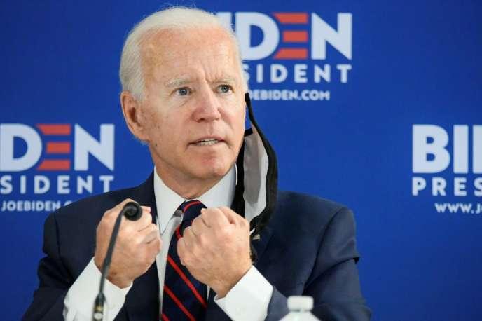 Le candidat démocrate, Joe Biden, le 11 juin à Philadelphie (Pennsylvanie).