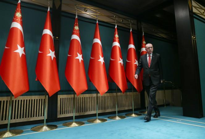 Le président turc, Recep Tayyip Erdogan, le 9 juin à Ankara.