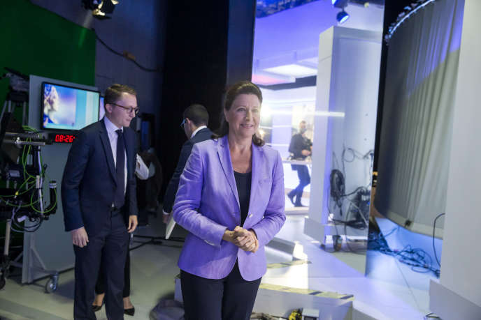 Agnès Buzyn lors du débat avant le 2e tour des élections municipales de Paris le 17 juin.