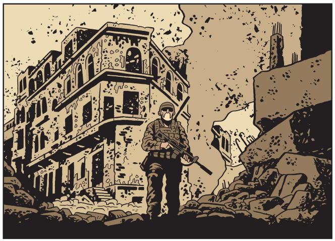 «L'Homme qui tua Chris Kyle», de Fabien Nury et Brüno.