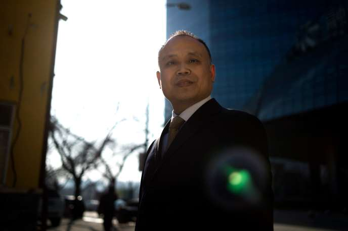 L'avocat chinois Yu Wensheng le 12 janvier 2017 à Pékin.