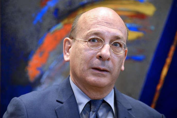 François Bourdillon à l'Assemblée nationale, en juillet2014.
