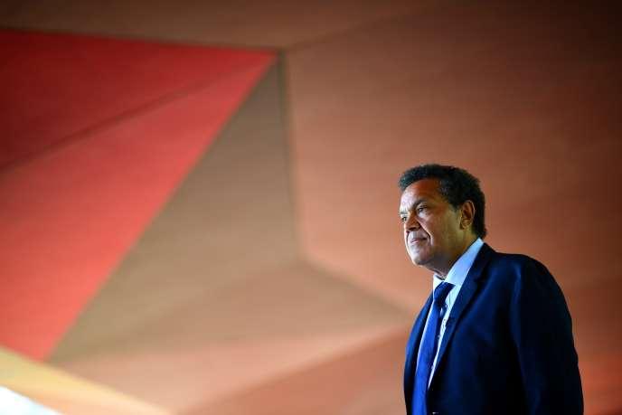 Le directeur du Musée du quai Branly-Jacques-Chirac, le 27 mai 2020, date de sa prise de fonctions de l'institution parisenne.