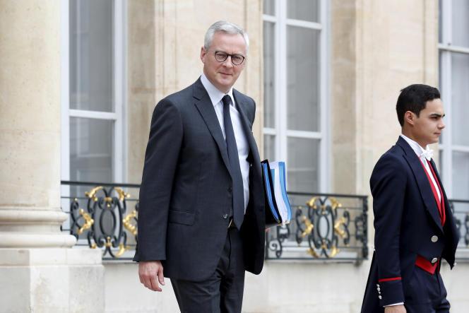 Bruno Le Maire, ministre de l'économie et des finances, à l'Elysée, le 17juin.