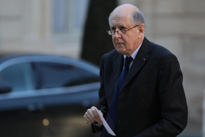 Jean-Marc Sauvé, président de la Ciase, en 2018 à l'Elysée.