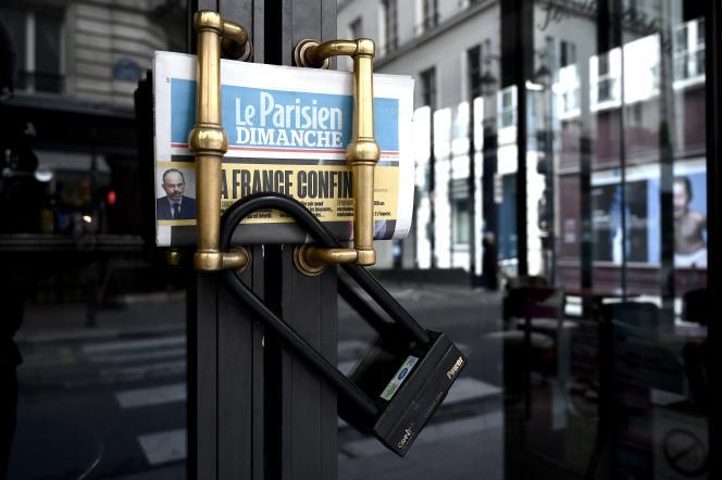 A Paris, le 15 mars 2020.