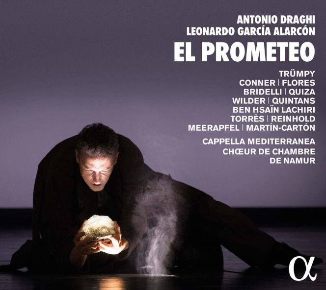 Pochette de l'album«El Prometeo», opéra d'Antonio Draghi.