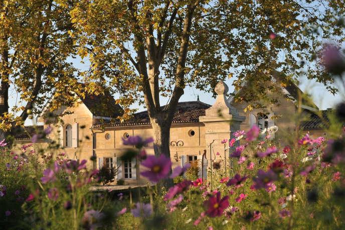 Le Château Jean Faure, grand cru classé de Saint-Emilion. Un pionnier du bio certifié en 2017.