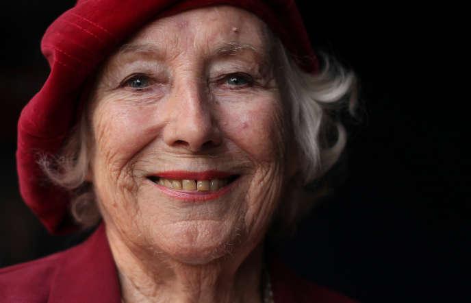 Vera Lynn, à Londres, en octobre 2009.