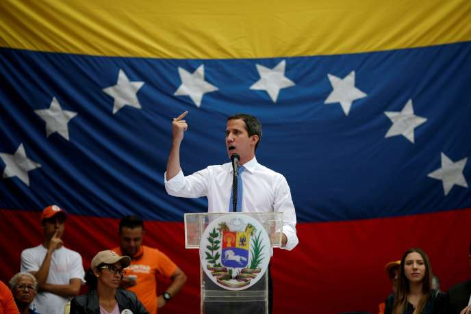 Juan Guaido à Caracas (Venezuela), le 30 septembre 2019.