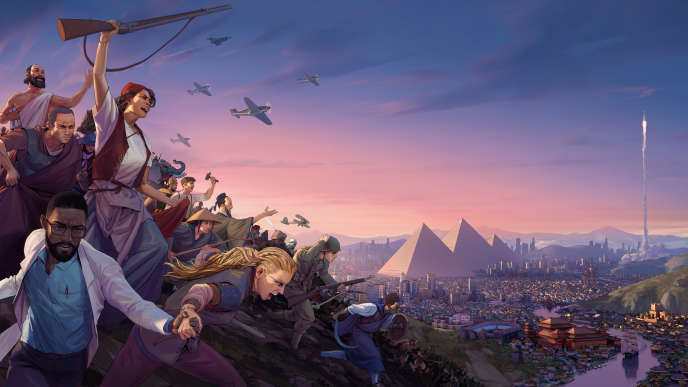 Quatrième jeu de gestion du studio français Amplitude,« Humankind» part au combat frontal contre la saga« Civilization».