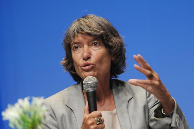Véronique Cayla au Festival de la fiction de La Rochelle, en septembre 2014.
