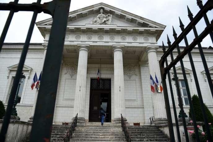 Le tribunal de grande instance de Blois (Loir-et-Cher), en juin 2018.