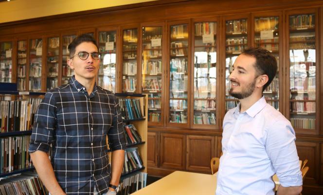 Maximilien Brossard et Jonathan Villot, les deux fondateurs d'Imope.
