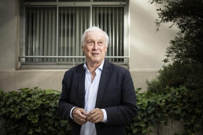 Jean-François Delfraissy, médecin spécialisé dans l'immunologie et président du Comité consultatif national d'éthique (CCNE), à Paris, le 16 juin.