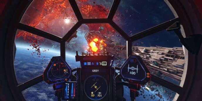 Grand classique des années 1990, le jeu de combat spatial estampillé «Star Wars» fait son grand retour.