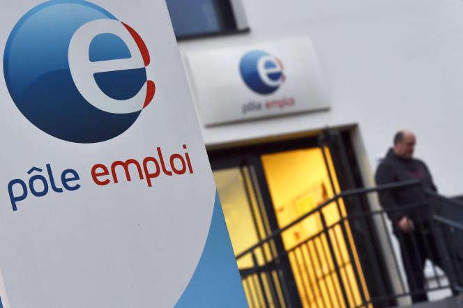 Une agence Pôle emploi de Nantes, en 2018.