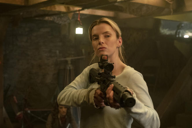 Betty Gilpin interprète Crystal dans «The Hunt», de Craig Zobel.