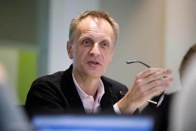 Richard Horton, le rédacteur en chef du«Lancet».