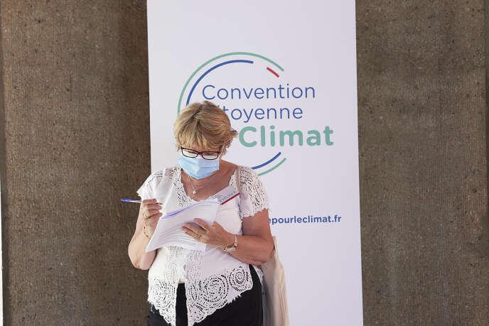A la convention citoyenne pour le climat, le 20 juin.