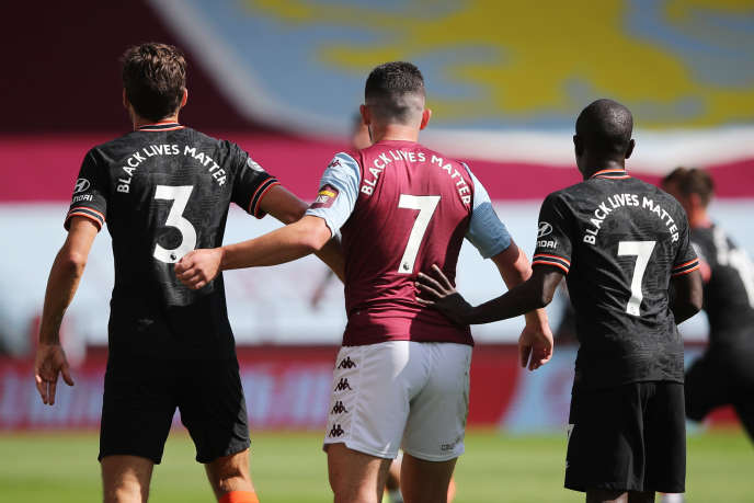 During the Premier League match between Aston Villa and Chelsea at Villa Park, in Birmingham (England), on June 21.
