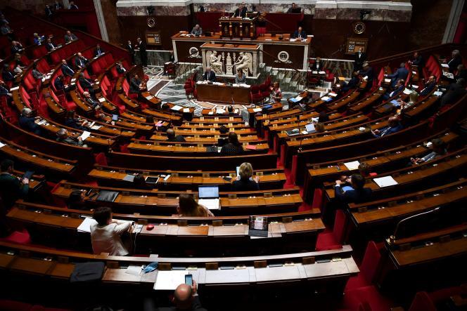 Séance des questions au gouvernement, à l'Assemblée nationale, le 26 mai.