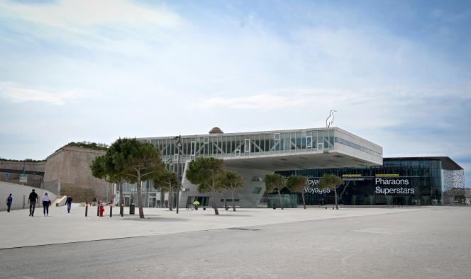 Le Musée des civilisations de l'Europe et de la Méditerranée (Mucem), à Marseille, le 16 mars.