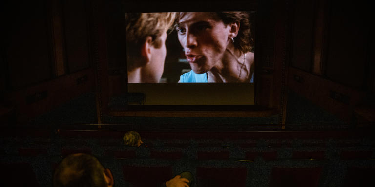 Première séance de projection au cinéma Le Louxor à Paris, le 22 juin.