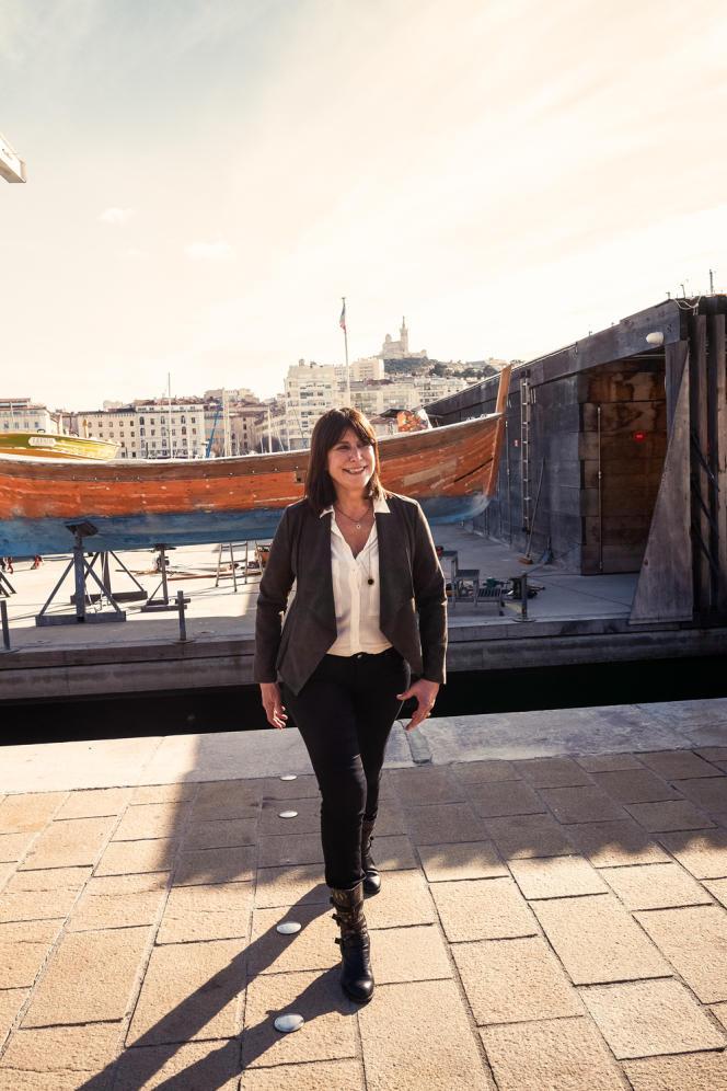 Michèle Rubirola à Marseille, le 7 février.