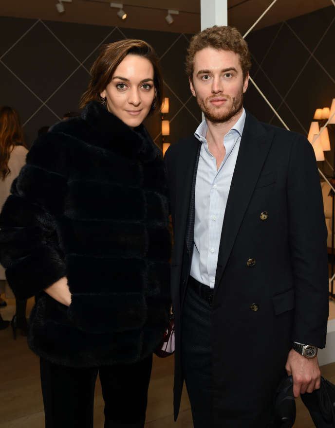 "<p>Inigo Philbrick alongside his ex-girlfriend Francisca Mancini, during an opening on February 25, 2016 in London.</p> <p>""/><noscript> <img src="