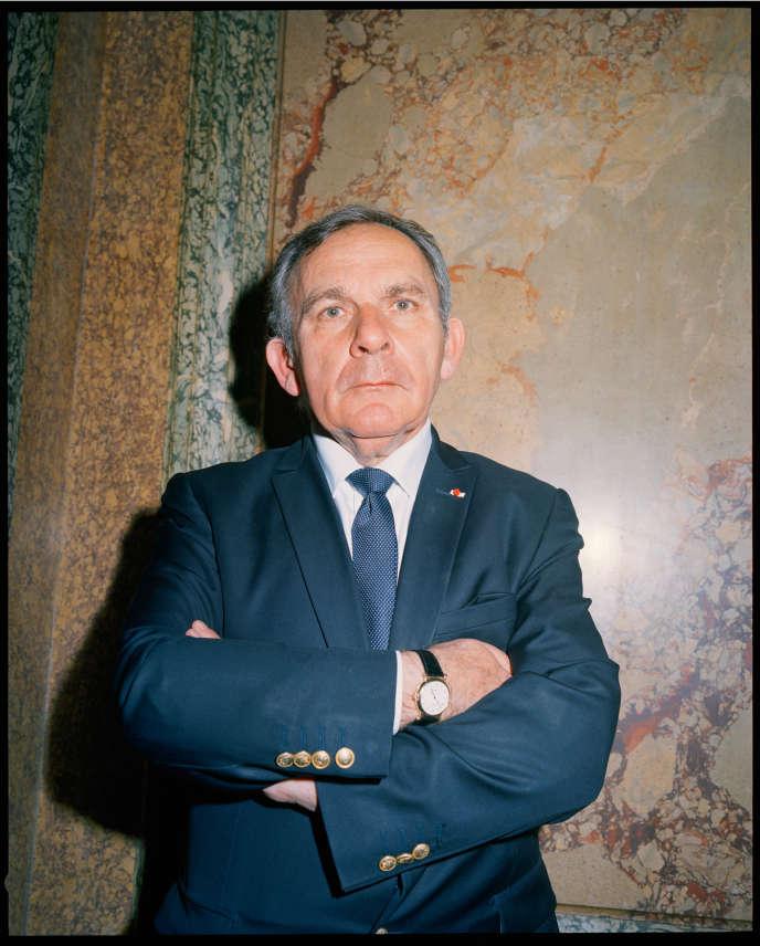 Francis Szpiner, le 18 juin, à Paris.