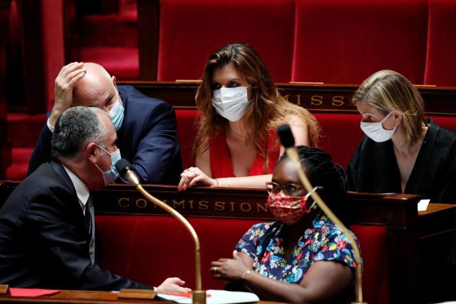 Marlène Schiappa, à l'Assemblée nationale, le 23juin.