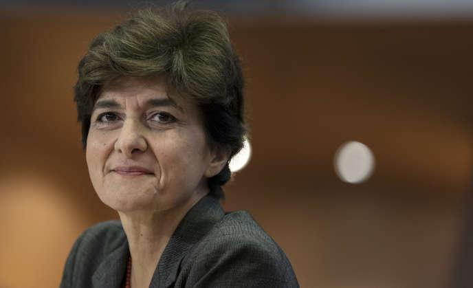 Sylvie Goulard, au Parlement européen, à Bruxelles, en octobre 2019.