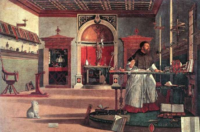 Saint Augustin, par Vittore Carpaccio, 1502.