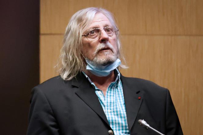 Le professeur Didier Raoult lors de son audition devant la commission d'enquête parlementaire sur la gestion de l'épidémie de Covid-19, à l'Assemblée nationale, le 24juin.
