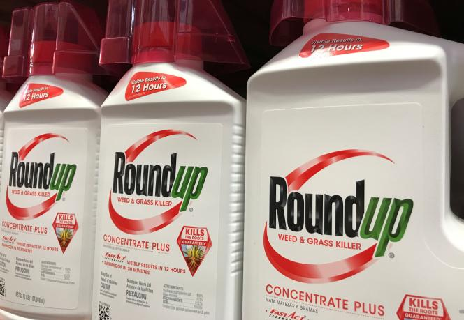 Le Roundup vendu dans un supermarché à Encinitas, en Californie, le 26 juin 2017.