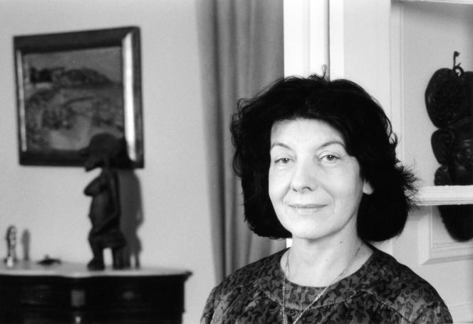 Annie Goldmann, en 1996.